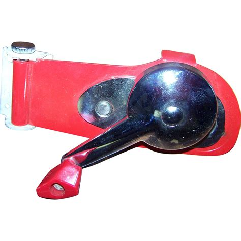swing away can opener wall mount vintage swing away utility 42 metalware red wall mount