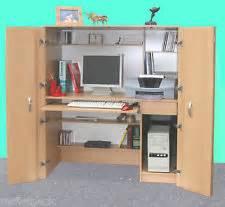Hideaway Computer Desk Australia Hideaway Self Contained Computer Desk Office Sydney Ebay