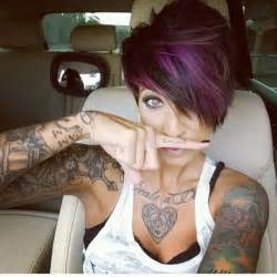 pixie cut hair color 17 stylish hair color designs purple hair ideas to try
