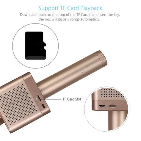 New Mic Karaoke Bluetooth Build Speaker Bisa Ke App K micgeek mic karaoke speaker bluetooth q10s golden jakartanotebook