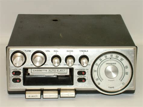 car stereo cassette pioneer kp500 vintage car cassette stereo radio am fm for