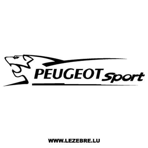 logo peugeot sport sticker peugeot sport
