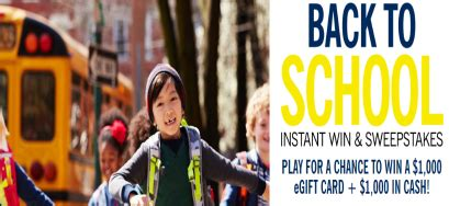 Lands End Sweepstakes - lands end back to school sweepstakes iwg win 1 000 more sweepstakes in