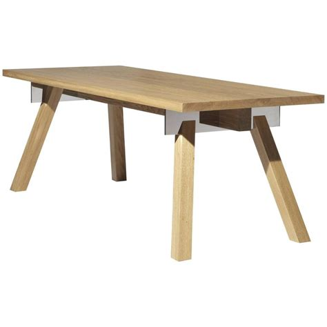 Philippe Starck Dining Table Quot Torquemada Quot Table In Brushed Oak Designed By Philippe Starck For Driade 2017 For Sale At 1stdibs