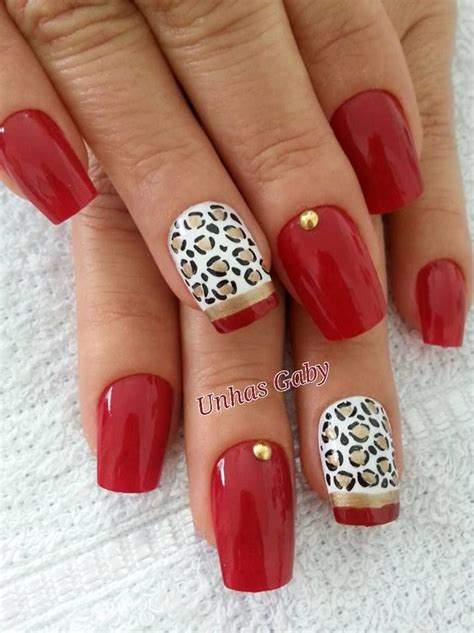 cool red nail color 20 cool mani with red nail polish