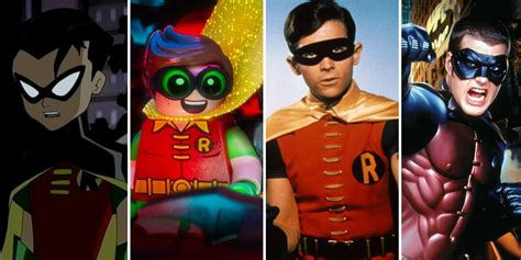 Robins O O batman every adaptation of robin ranked worst to best