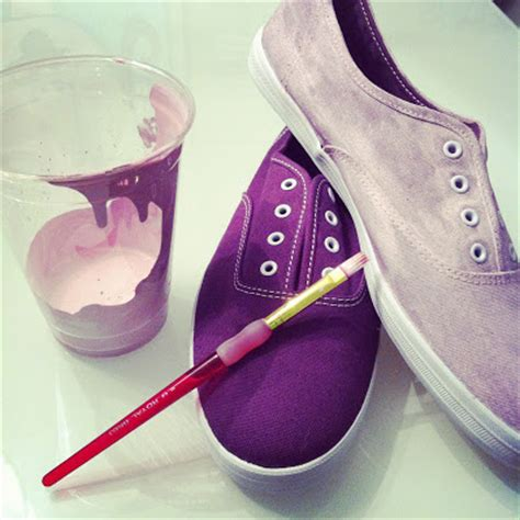 diy shoe painting peace pliers diy painted shoes