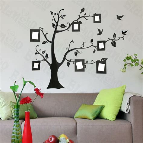 home accents wall: large tree wall decals memory tree large wall decals stickers appliques home decorjpg