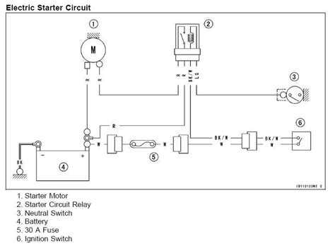 kawasaki mule 550 ignition wiring diagram 3010 kawasaki