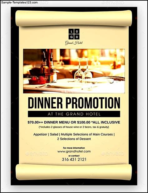 new year dinner promotion 2016 hotel dinner promotion flyer sle templates