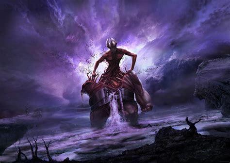 concept art fantasy illustrations photoshopcoolvibe digital art fantasy revival of the death colossus 2d digital