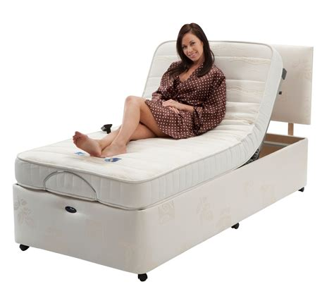 richmond electric adjustable bed with pocket sprung mattress shelden healthcare