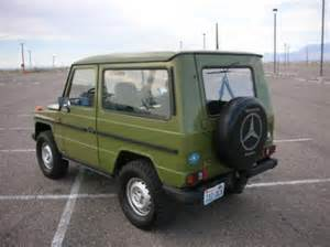 Mercedes G Class 1980 Image Gallery 1980 Mercedes Suv