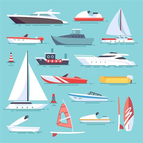 types of boats - How Many Different Types Of Boats