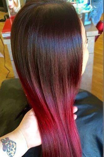 najbolje farbe crvene najbolje crvene ombre frizure frizure hr