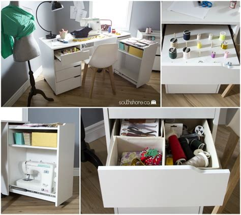 craft table with storage craft tables you can buy instead of diy infarrantly creative