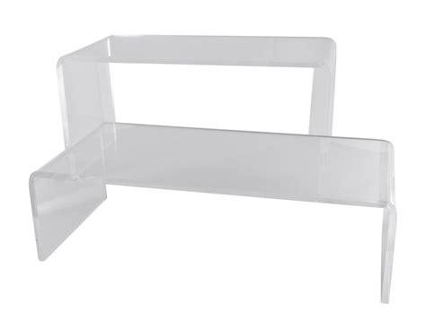 sgabelli plexiglass noleggio alzate supporti sgabello in plexiglas