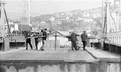 newhaven swing bridge times last time it was opened 1974 old newhaven swing bridge