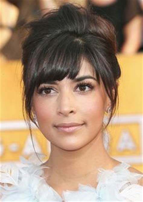 is an updo with bangs ok for older women zmeena orr thick thick pinterest lena chase phat