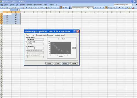 tutorial excel graficas 2010 tutorial para crear gr 225 ficas con excel youtube