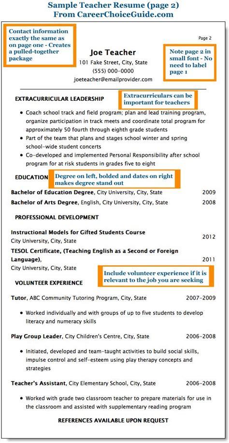 17 best ideas about sle resume on cv resume