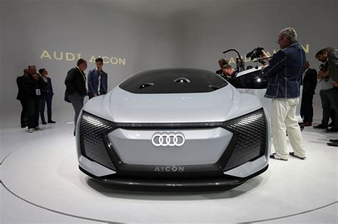 Audi At by Audi Aicon And Elaine Concepts At 2017 Frankfurt Motor