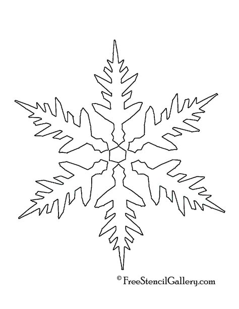 printable winter snowflakes printable snowflake stencils www imgkid com the image