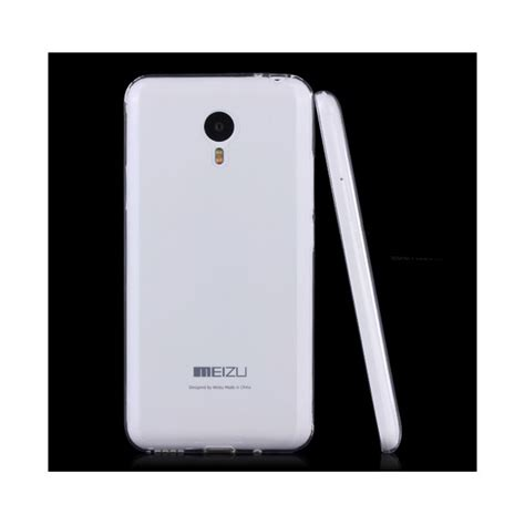 Ultrathin Tpu Soft For Meizu M2 Note 06 Mm Clear ultra thin tpu gel rubber soft skin cover for meizu m2