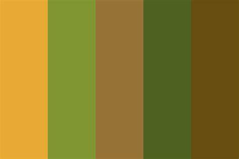 butternut squash color palette