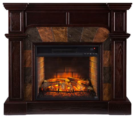 joliet corner faux infrared fireplace traditional