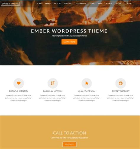 bootstrap themes ember 50 best free responsive wordpress themes for 2018