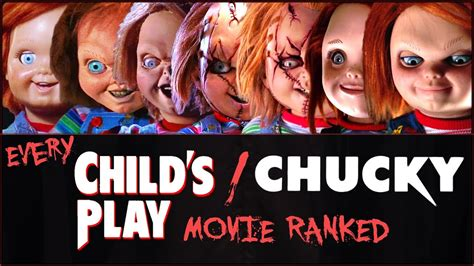 chucky movie watch every child s play chucky movie ranked youtube