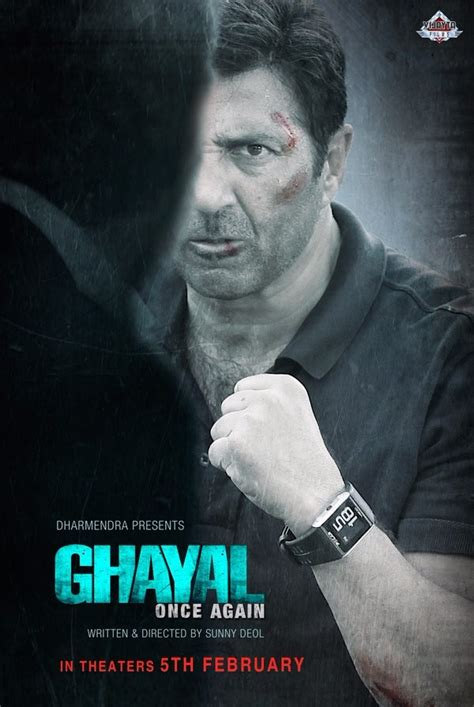 biography of movie ghayal sunny deol s ghayal once again movie poster photos