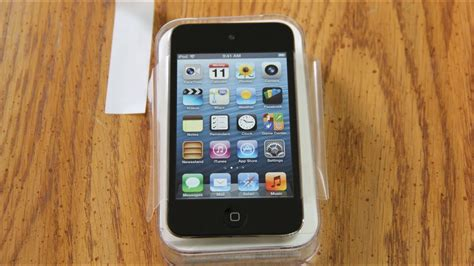 apple ipod touch 4th unboxing ipod touch 4th generation 16gb unboxing