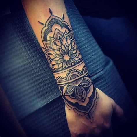 tattoo san antonio lovin my new dotwork linework mandala