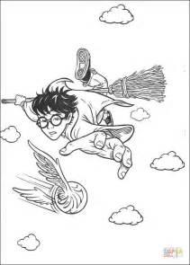 harry potter troll coloring page disegno di il gioco del quidditch da colorare disegni da