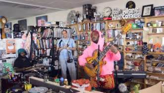 Tiny Desk Concert Cat Thundercat Performs Tiny Desk Concert For Npr