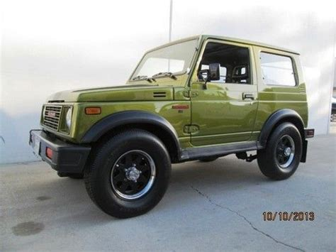 Suzuki Mini Jeep Purchase Used 1986 Suzuki Samurai 4x4 Hardtop Quot Mini Hummer