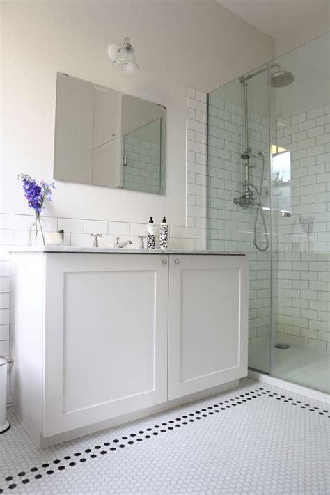 hex tile bathroom hexagonal tiles rubio pinterest