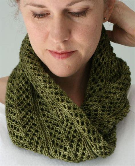 knit lace cowl pattern best 25 knit scarves ideas on