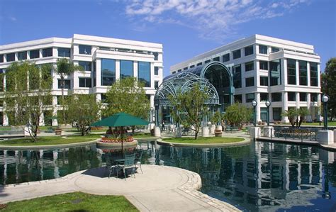 Water Garden Santa by California Office Space Office Executive Offices