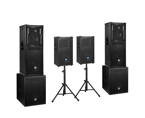 lighting and sound equipment rental hire sound system