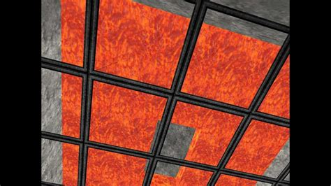 Minecraft Beta 1 7 2 Simple Switchable Lava Ceiling Minecraft Ceiling Lights
