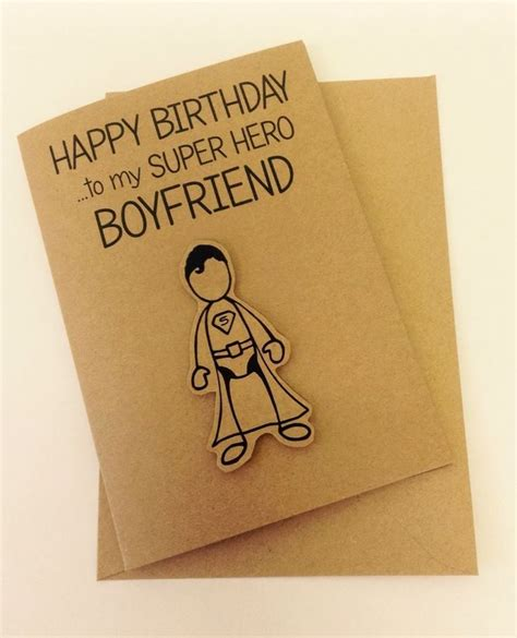 Design For Birthday Card For Boyfriend