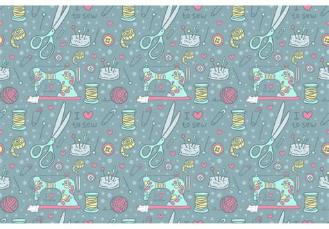 machine patterns free free vintage sewing machine pattern vector free