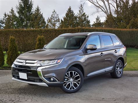 black mitsubishi outlander 2016 2016 mitsubishi outlander gt s awc road test review
