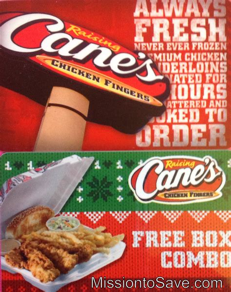 Raising Canes Gift Card - tis the season for holiday bonus gift card offers mission to save