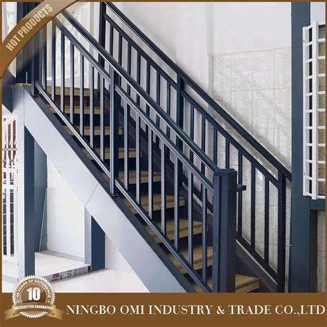 Iron Grill Design For Stairs 2016 Cheap Price Simple Stair Railing Design Black Color Iron Stair Railing Designs