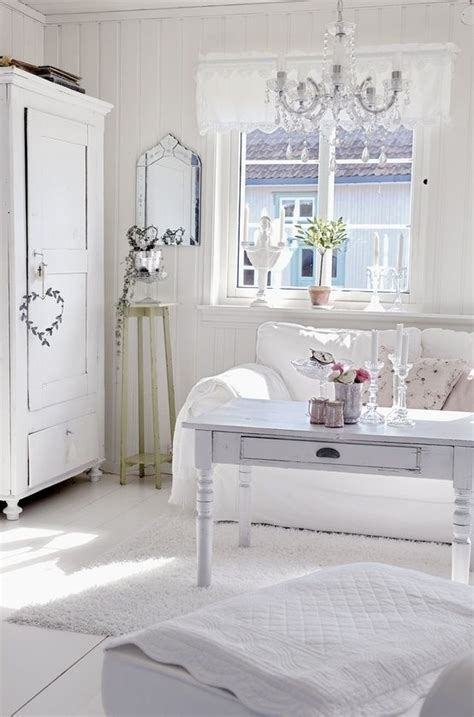 White Vintage Schlafzimmer by Picture Of Enchanted Shabby Chic Living Room Designs