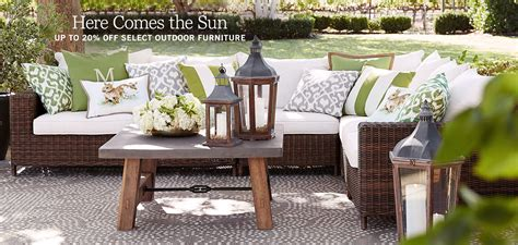 outdoor furniture pottery barn home furnishings home decor outdoor furniture modern